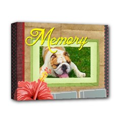 pet - Deluxe Canvas 14  x 11  (Stretched)