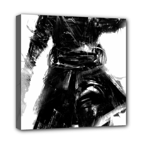 Assassins Creed Black Flag Tshirt Mini Canvas 8  X 8  by iankingart