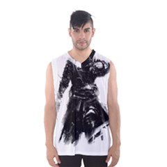 Assassins Creed Black Flag Tshirt Men s Basketball Tank Top by iankingart