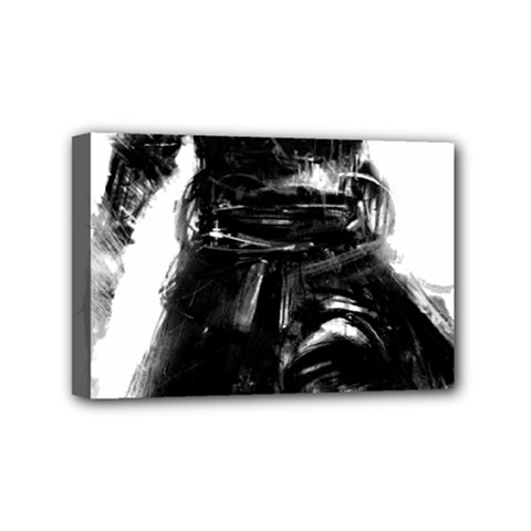 Assassins Creed Black Flag Tshirt Mini Canvas 6  X 4  by iankingart