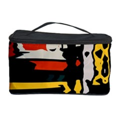 Distorted Shapes In Retro Colors Cosmetic Storage Case