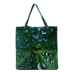 Morning Dew Grocery Tote Bags