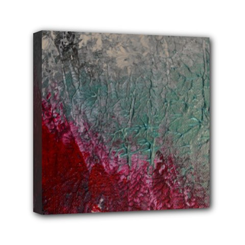 Metallic Abstract 1 Mini Canvas 6  X 6  by timelessartoncanvas