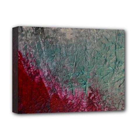 Metallic Abstract 1 Deluxe Canvas 16  X 12   by timelessartoncanvas