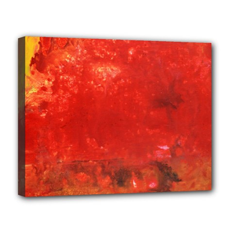 Stone Wall Canvas 14  X 11  by timelessartoncanvas