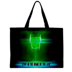 Stop In The Name Of The Law Zipper Tiny Tote Bags