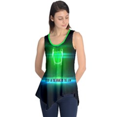 Stop In The Name Of The Law Sleeveless Tunic