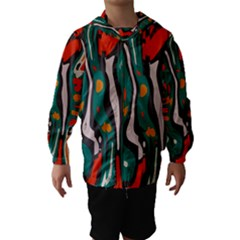 Retro Colors Chaos Hooded Wind Breaker (kids)