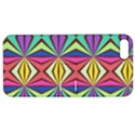 Connected shapes in retro colors  Apple iPhone 5 Hardshell Case with Stand View1