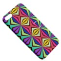 Connected shapes in retro colors  Apple iPhone 5 Hardshell Case with Stand View5
