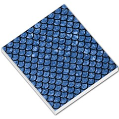 Scales1 Black Marble & Blue Marble Small Memo Pads