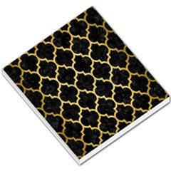 Tile1 Black Marble & Gold Brushed Metal Small Memo Pads