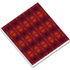 Brown Diamonds Pattern Small Memo Pads by Costasonlineshop