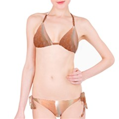 Floating Subdued Peach Bikini Set by timelessartoncanvas