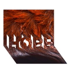 Red Hair Hope 3d Greeting Card (7x5)