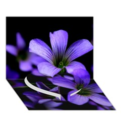 Springtime Flower Design Heart Bottom 3d Greeting Card (7x5)  by timelessartoncanvas