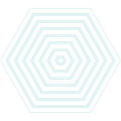 Baby Blue And White Stripes Mini Folding Umbrellas by timelessartoncanvas