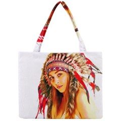 Indian 26 Mini Tote Bag by indianwarrior