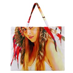 Indian 26 Zipper Large Tote Bag by indianwarrior