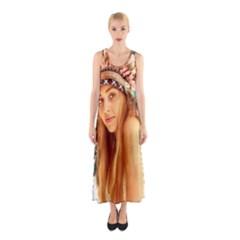 Indian 27 Full Print Maxi Dress