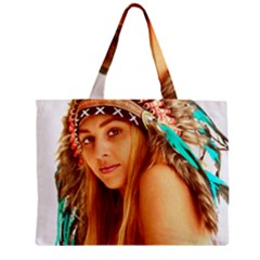 Indian 27 Zipper Mini Tote Bag by indianwarrior