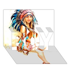 Indian 18 Boy 3d Greeting Card (7x5) by indianwarrior