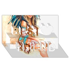 Indian 17 Best Friends 3d Greeting Card (8x4)  by indianwarrior