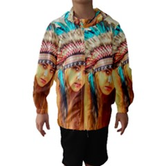 Indian 14 Hooded Wind Breaker (kids)