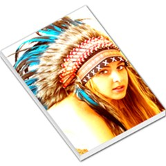 Indian 12 Large Memo Pads by indianwarrior