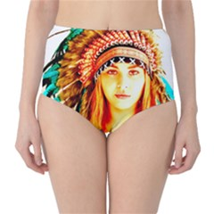 Indian 29 High-Waist Bikini Bottoms by indianwarrior