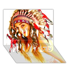 Indian 26 You Are Invited 3d Greeting Card (7x5)  by indianwarrior