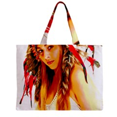 Indian 26 Zipper Mini Tote Bag by indianwarrior