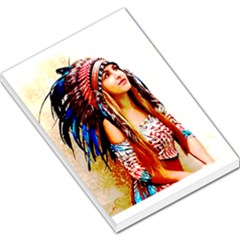 Indian 22 Large Memo Pads by indianwarrior