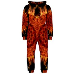 Flaming Sun Hooded Jumpsuit (ladies)  by Zandiepants