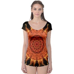 Flaming Sun Boyleg Leotard (ladies) by Zandiepants
