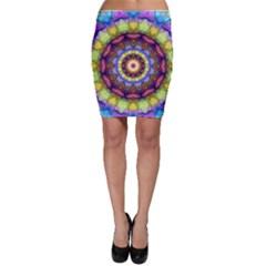 Rainbow Glass Bodycon Skirts by Zandiepants