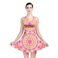Yellow Pink Romance Reversible Skater Dress by Zandiepants