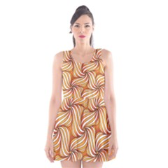 Sunny Organic Pinwheel Scoop Neck Skater Dress