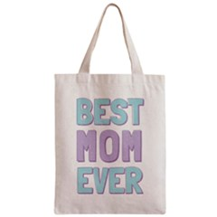 Best Mom Classic Tote Bag by typewriter