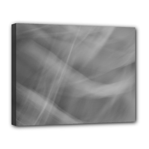 Gray Fog Canvas 14  X 11  by timelessartoncanvas