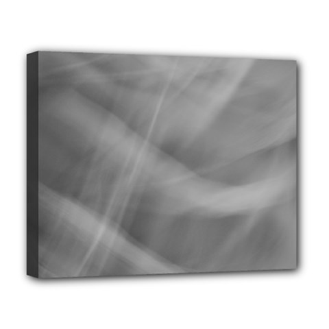 Gray Fog Deluxe Canvas 20  X 16   by timelessartoncanvas