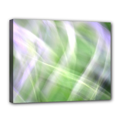Green And Purple Fog Canvas 14  X 11  by timelessartoncanvas
