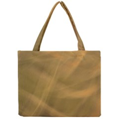 Brown Fog Mini Tote Bag by timelessartoncanvas