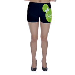 Lime Green Cheer Mouse Shorts by GalaxySpirit