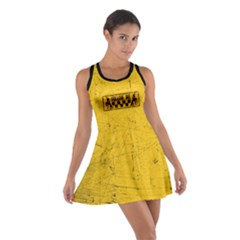 Used Look Follow Me Dancer Cotton Racerback Dress
