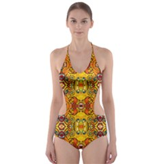 Roof555 Cut Out One Piece Swimsuit