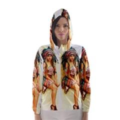 Indian 15 Hooded Wind Breaker (Women) by indianwarrior