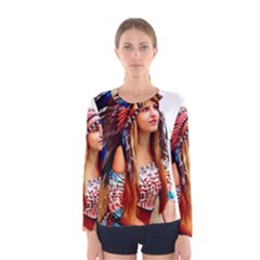 Indian 21 Women s Long Sleeve Tee by indianwarrior