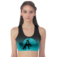 Zouk Blue Moon Sports Bra