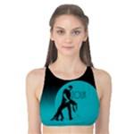 ZOUK BLUE MOON Tank Bikini Top